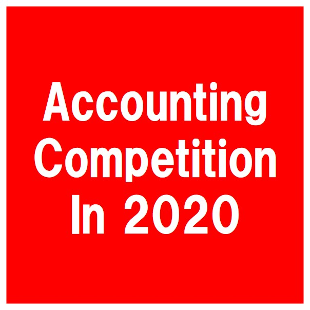 Accounting Competition in 2020